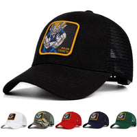 Dragon Ball Z Majin Vegeta Patch Trucker Hat