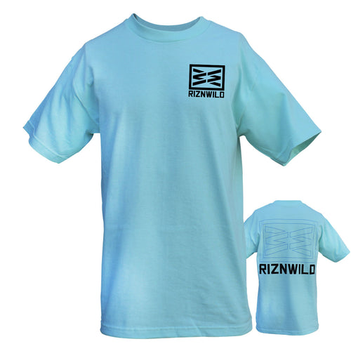 RIZNWILD | native wilderness t shirt in celadon