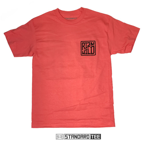 CASED MEN'S STANDARD TEE IN CORAL