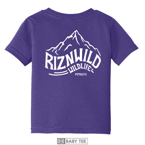 ROCKIES BABY TEE IN PURPLE