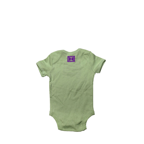 RIZNWILD | baby onesie, back view cut out