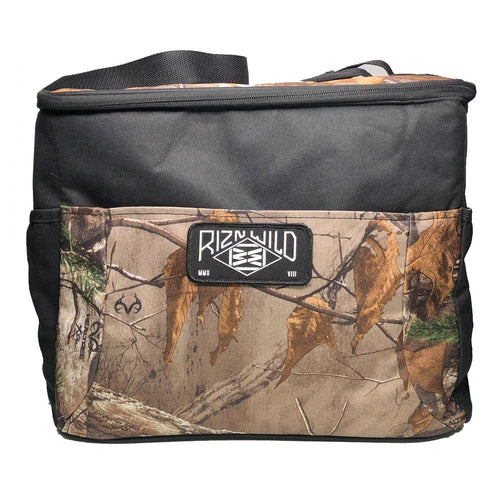 Outfitted Camouflage 24-Can Cube Cooler in Realtree/Black