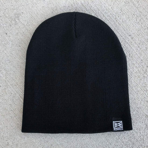 Stash Beanie in Black
