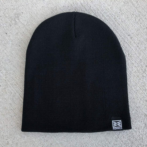Despite Cuffed Beanie in Black
