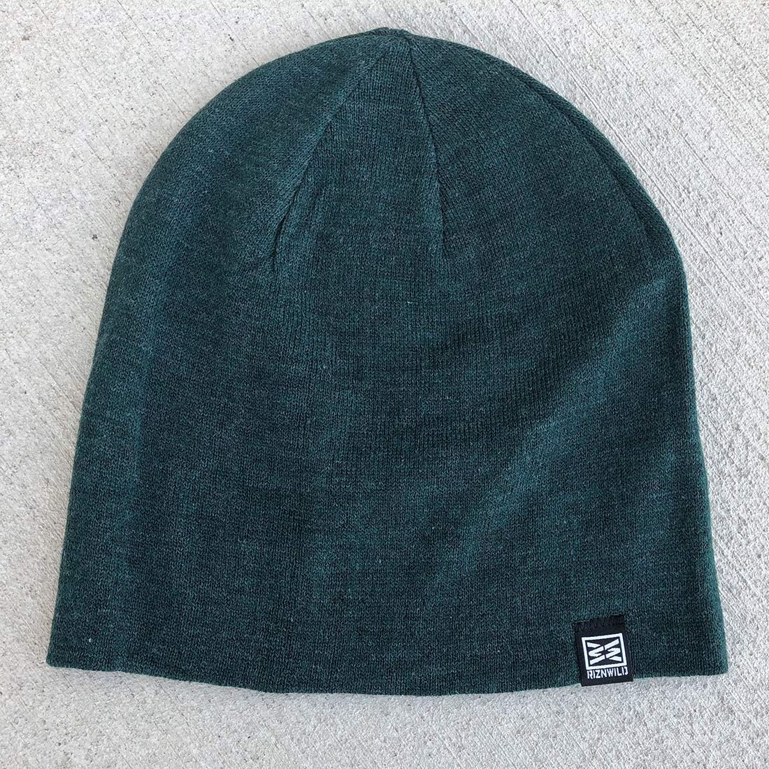 a4a8f80148e Mood Slouch Beanie in Forest Green Heather – RIZNWILD