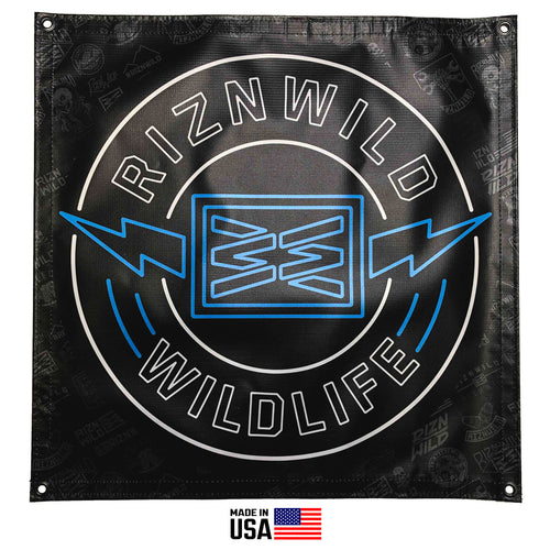 The RIZNWILD Life 2X2 full color banner