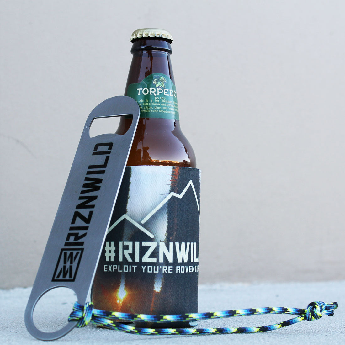 Standard 2-Sided Stainless Steel Bottle Opener