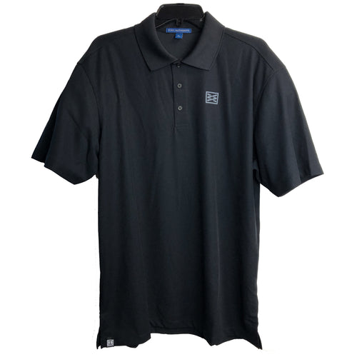 RIZNWILD | Mens black polo