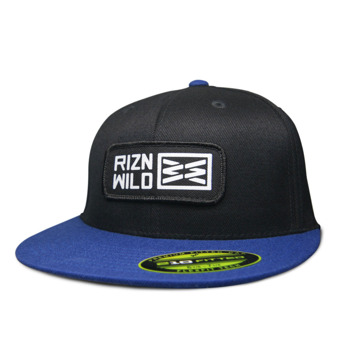RIZNWILD | 210 flex-fit fitted hat front view patch