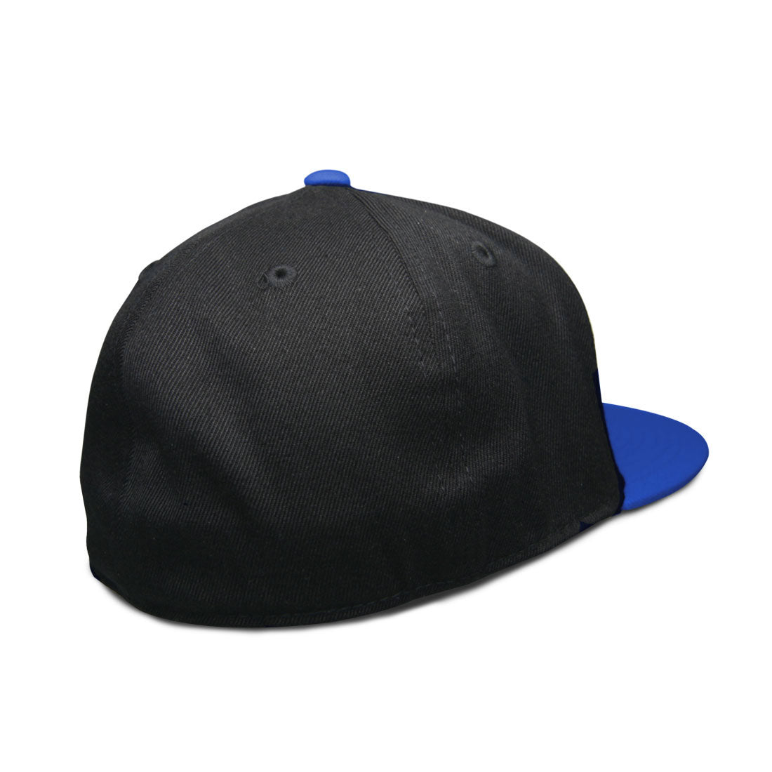 RIZNWILD | Fitted hat back view royal/black