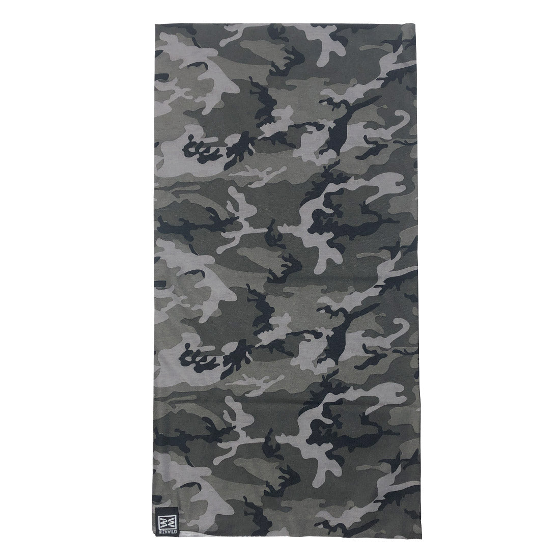 TWISTER GAITER MASK IN GREY CAMO