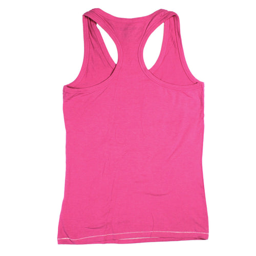 Block Girls Racerback Tank in Fuchsia Frost
