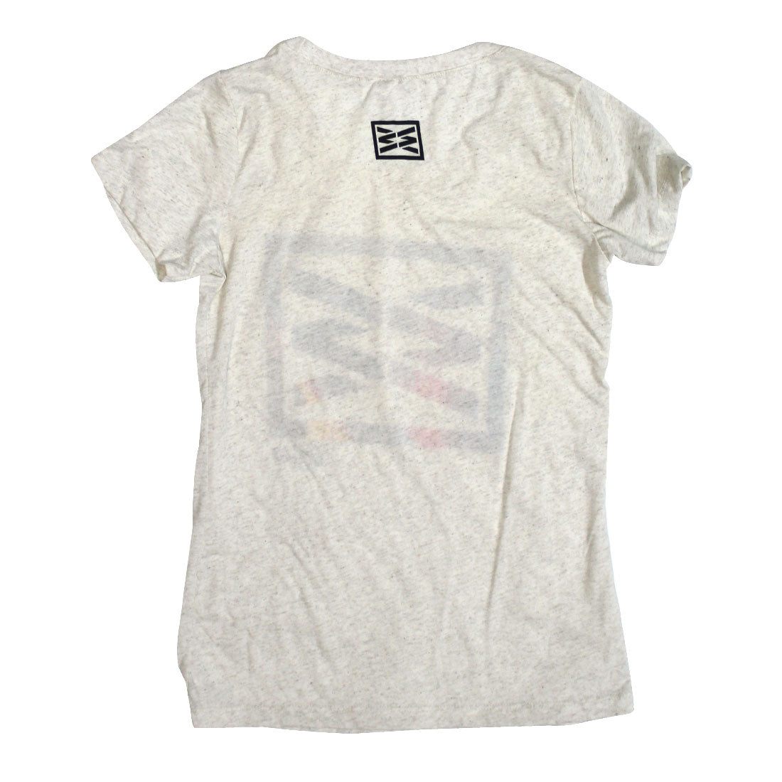 RIZNWILD | Girls oatmeal soft light color tee