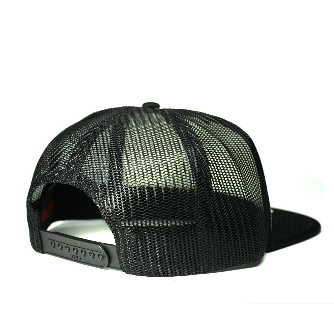 RIZNWILD | black snap back black trucker hat