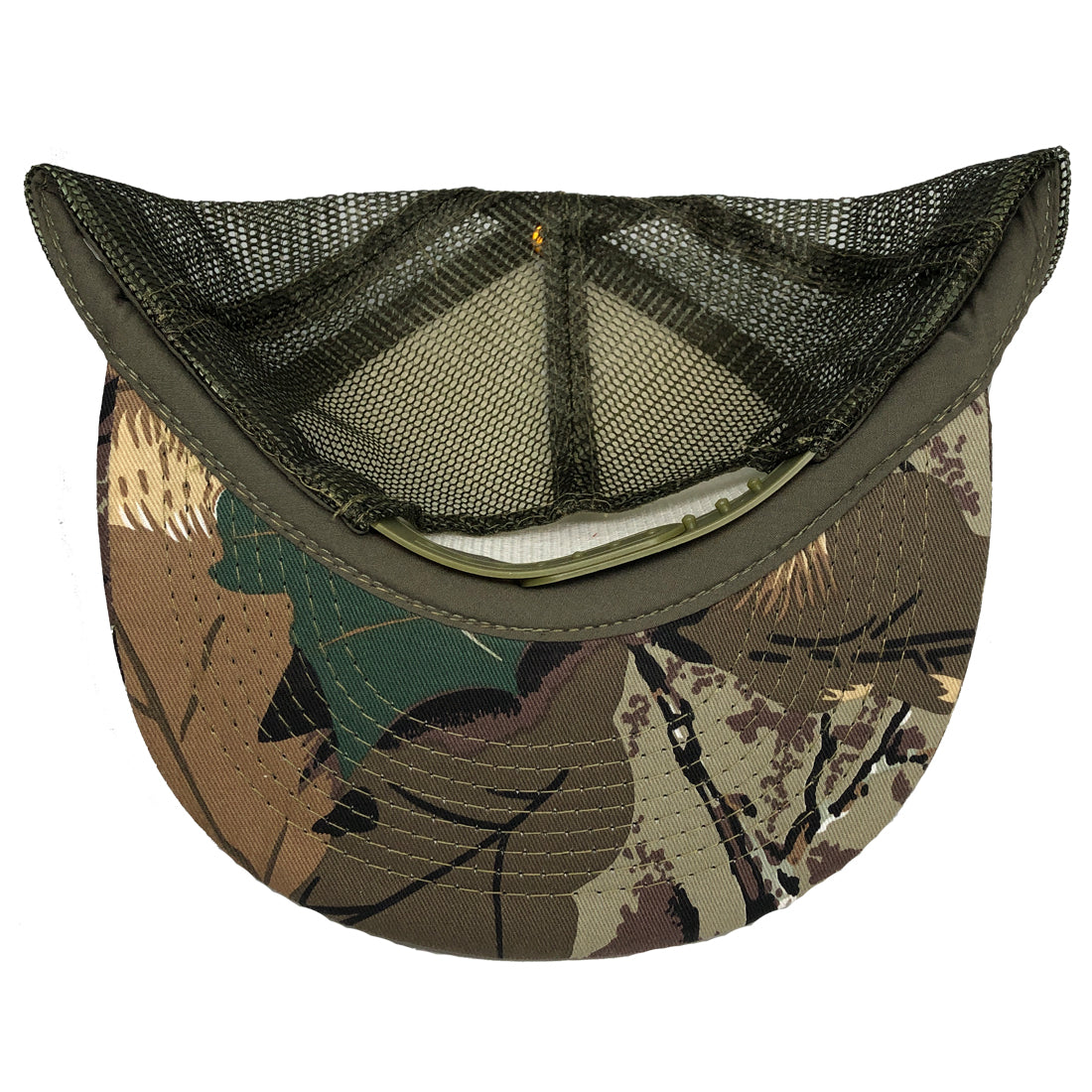 RIZNWILD | Camo trucker hat under-visor