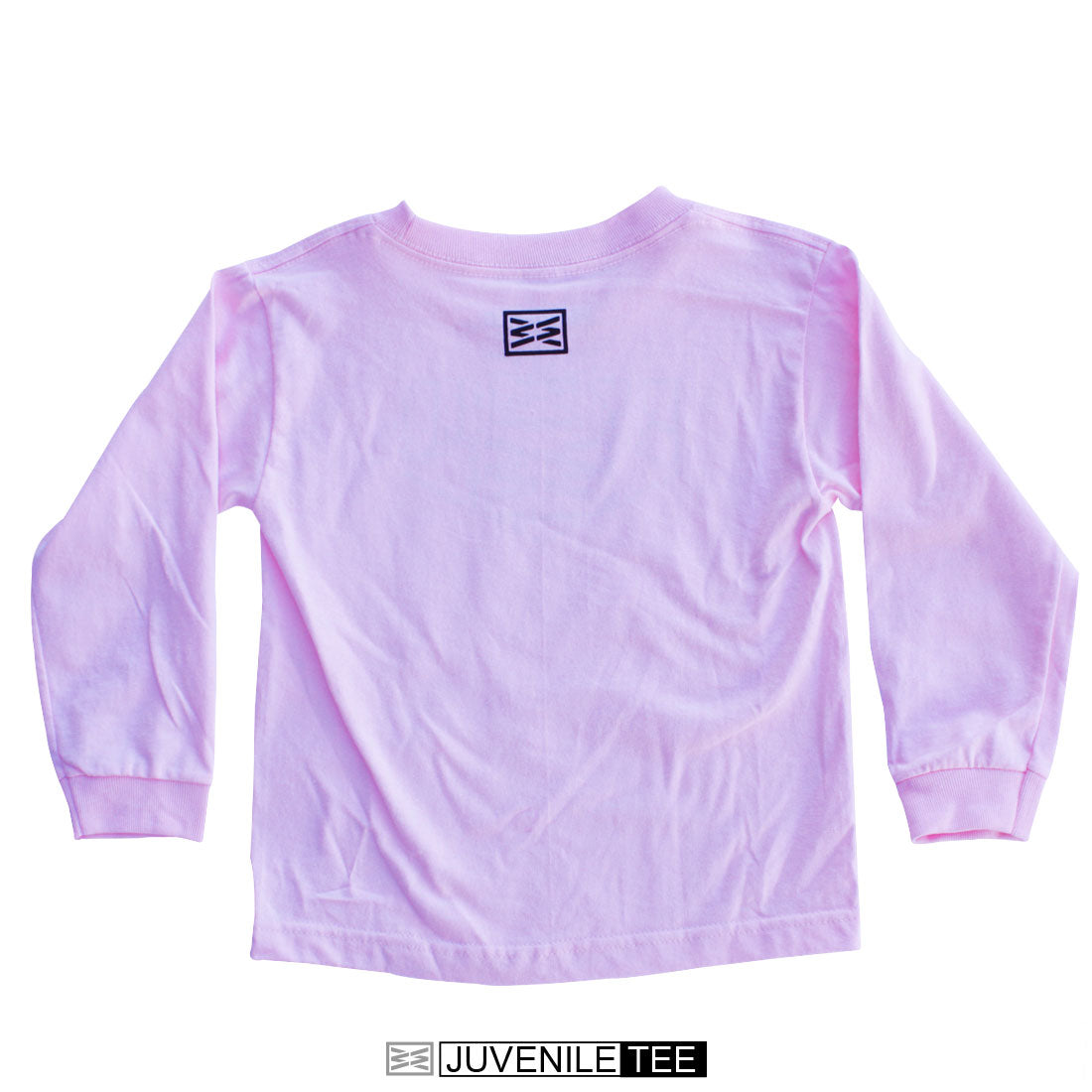 Sign Juvenile Long Sleeve Tee in Pink