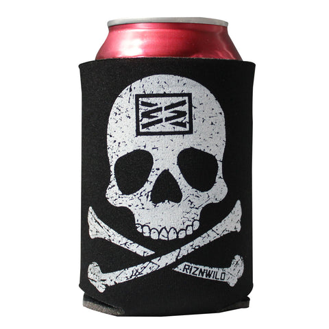 Cheers Tallcan Sublimated Koozie Black/Purple