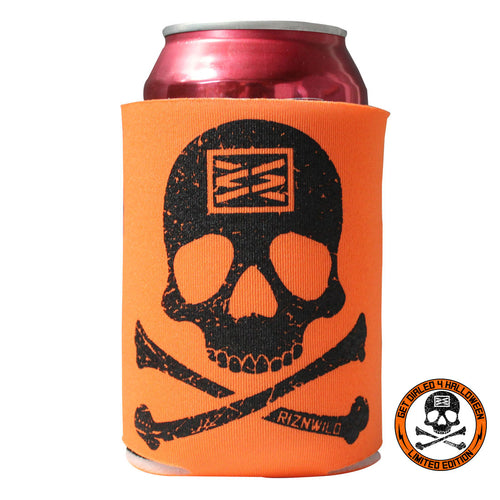 Bones Koozie in Orange