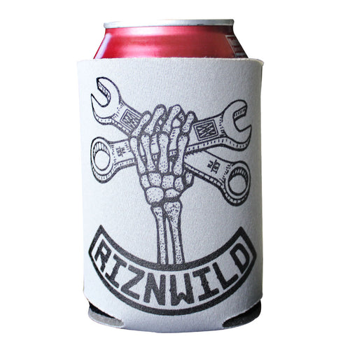Wrench Twist Koozie in Gray