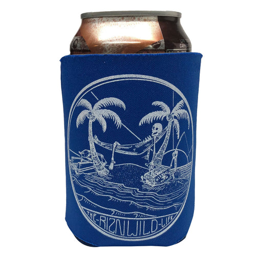 RIZNWILD | THE RIZNWILD LIFE KOOZIE in Royal
