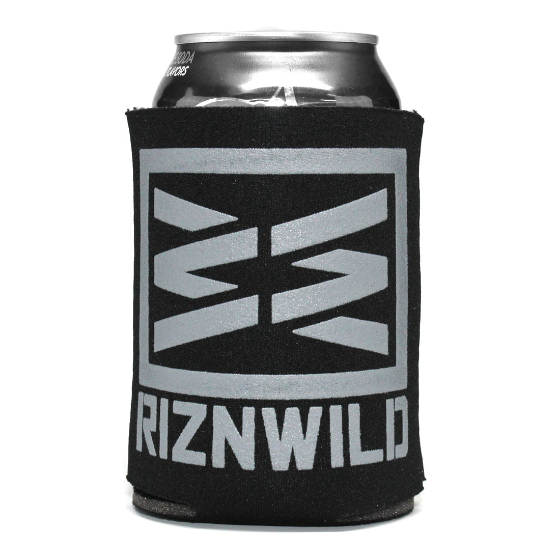 RIZNWILD | style beer koozies black and grey in color