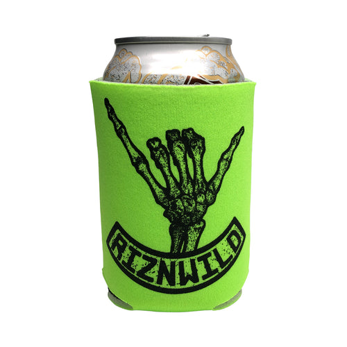 Shaka Koozie in Neon Green