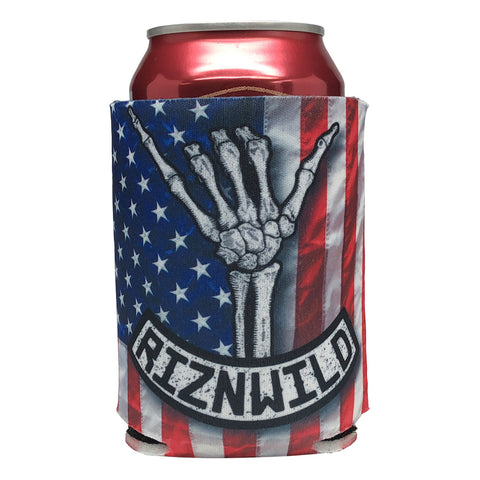 Shaka Sublimated Beer Bottle Koozie in America