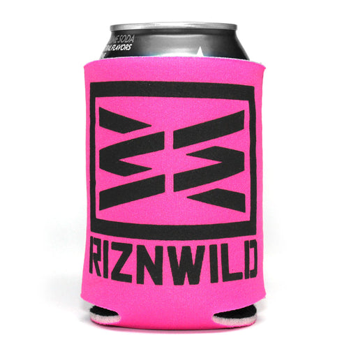 RIZNWILD | Hot Pink and Black Awesome Koozie