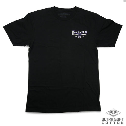 Champion Mens Ultra Soft Tee in Black