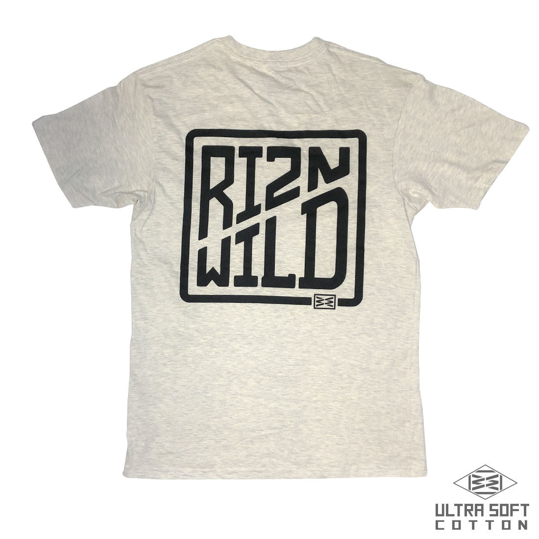 Cased Mens Ultra Soft Tee in Oatmeal Heather