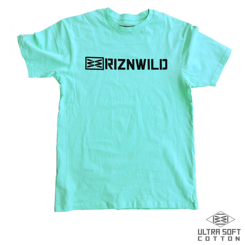 RIZNWILD | Original Mens Ultra Soft Tee in Mint
