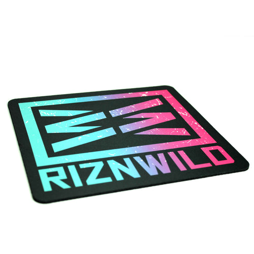 RIZNWILD | bright can cool florescent colors sublimated mousepad
