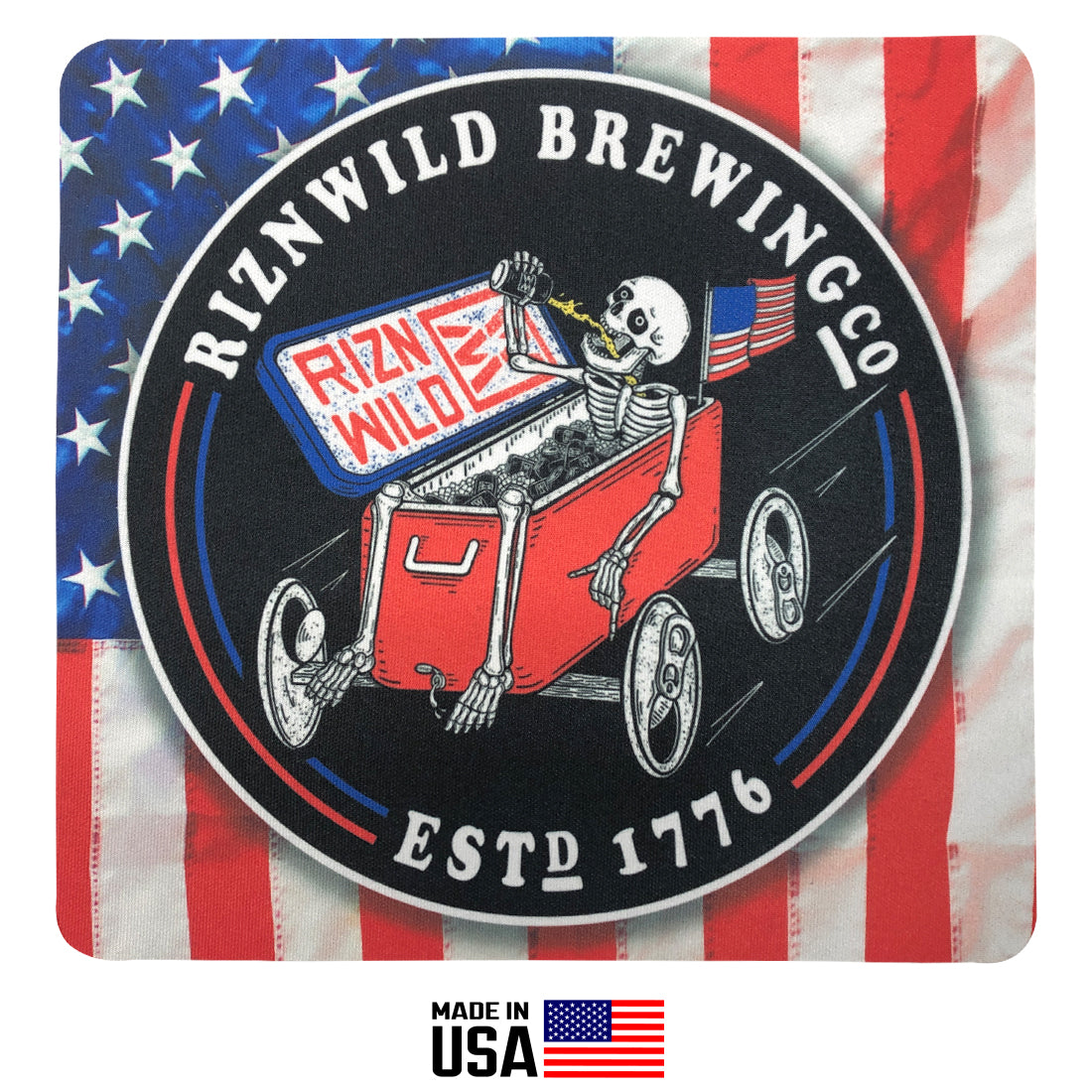 Shop rad RIZNWILD brew racer mouse pad