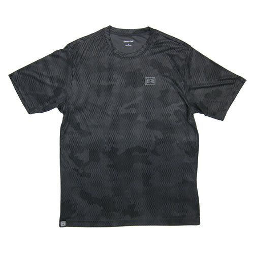 Bend Sport-Tek® CamoHex Tee in Iron Grey