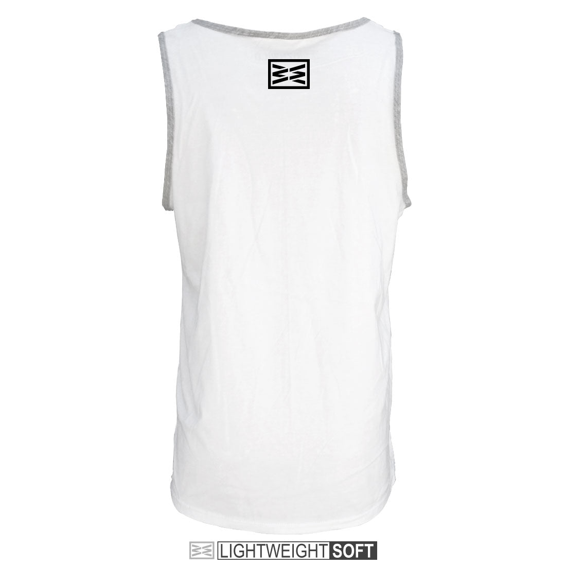 RIZNWILD | Men's lightweight tank top with logo on the back neck