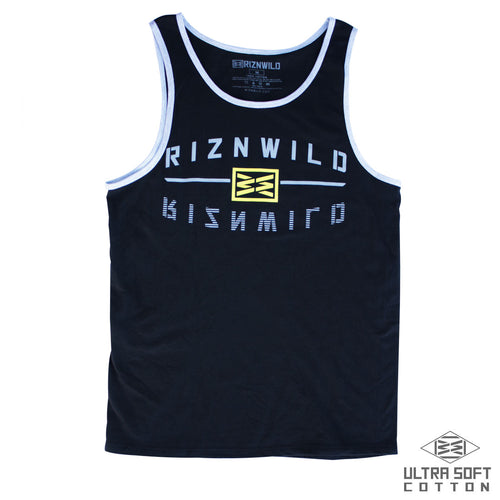RIZNWILD | Reflect Ultra Soft Mens Tank in Black/Athletic Heather