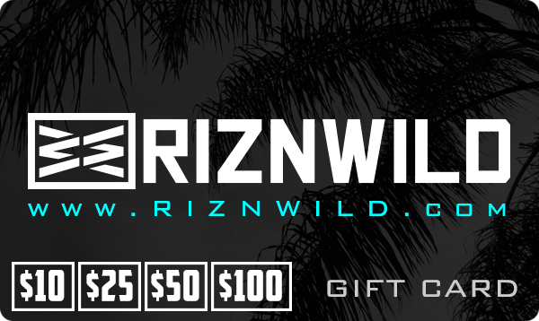 RIZNWILD Gift Card | Available in $10, $25, $50, $100