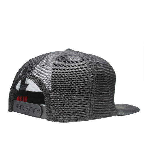 Range Otto Cap Snapback Hat in Camouflage Black Patch