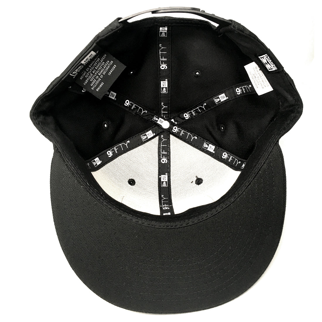 RIZNWILD | New Era black camo snapback hat