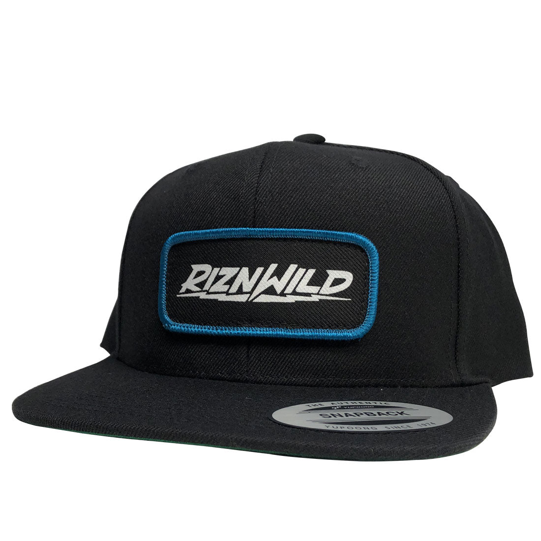 RIZNWILD | Flex flex-fit hat with blue piping patch