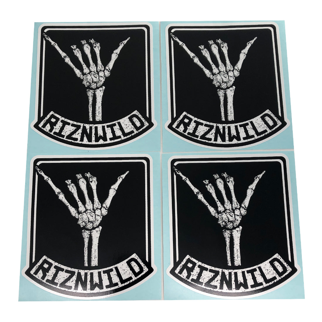 Shaka Sticker 4-Pack