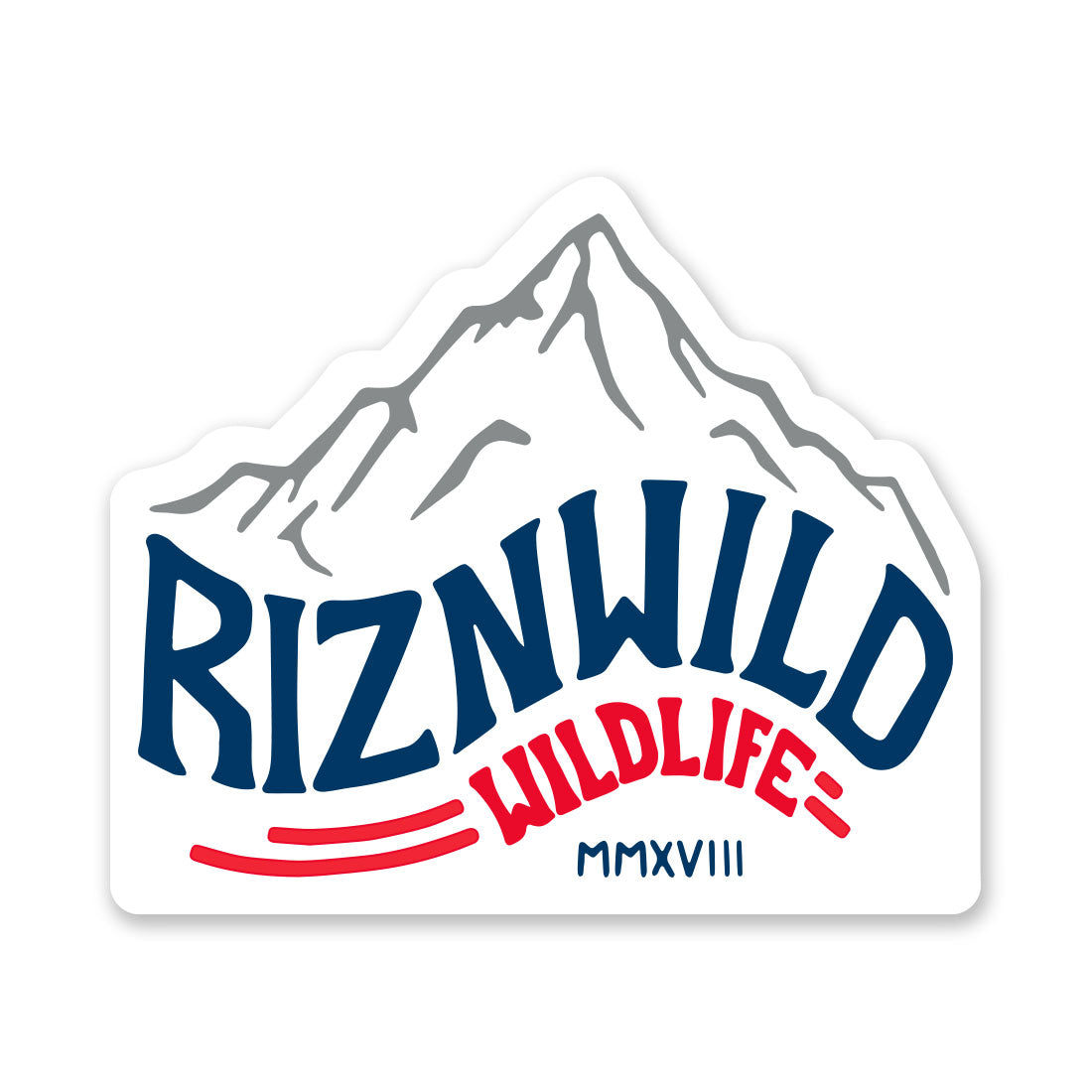RIZNWILD Rockies Sticker 6 Inch