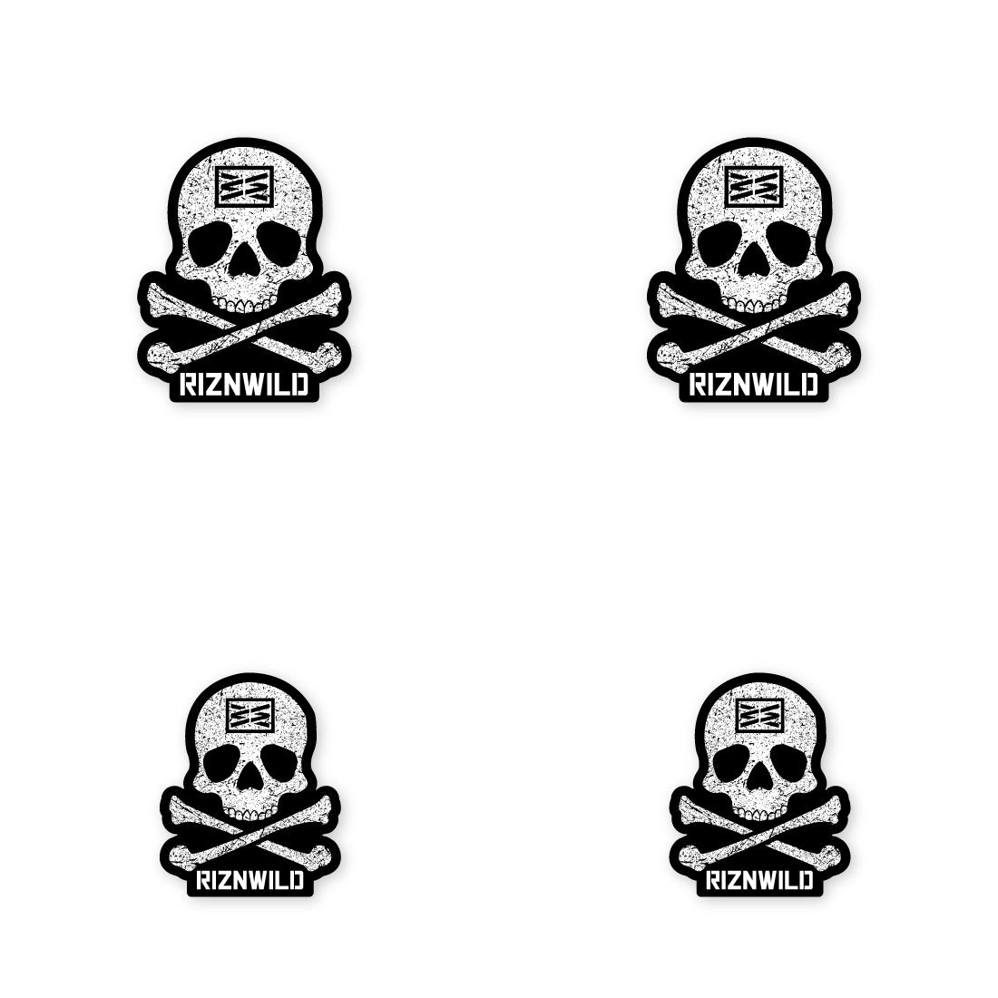 Jolly Roger Sticker 4-Pack