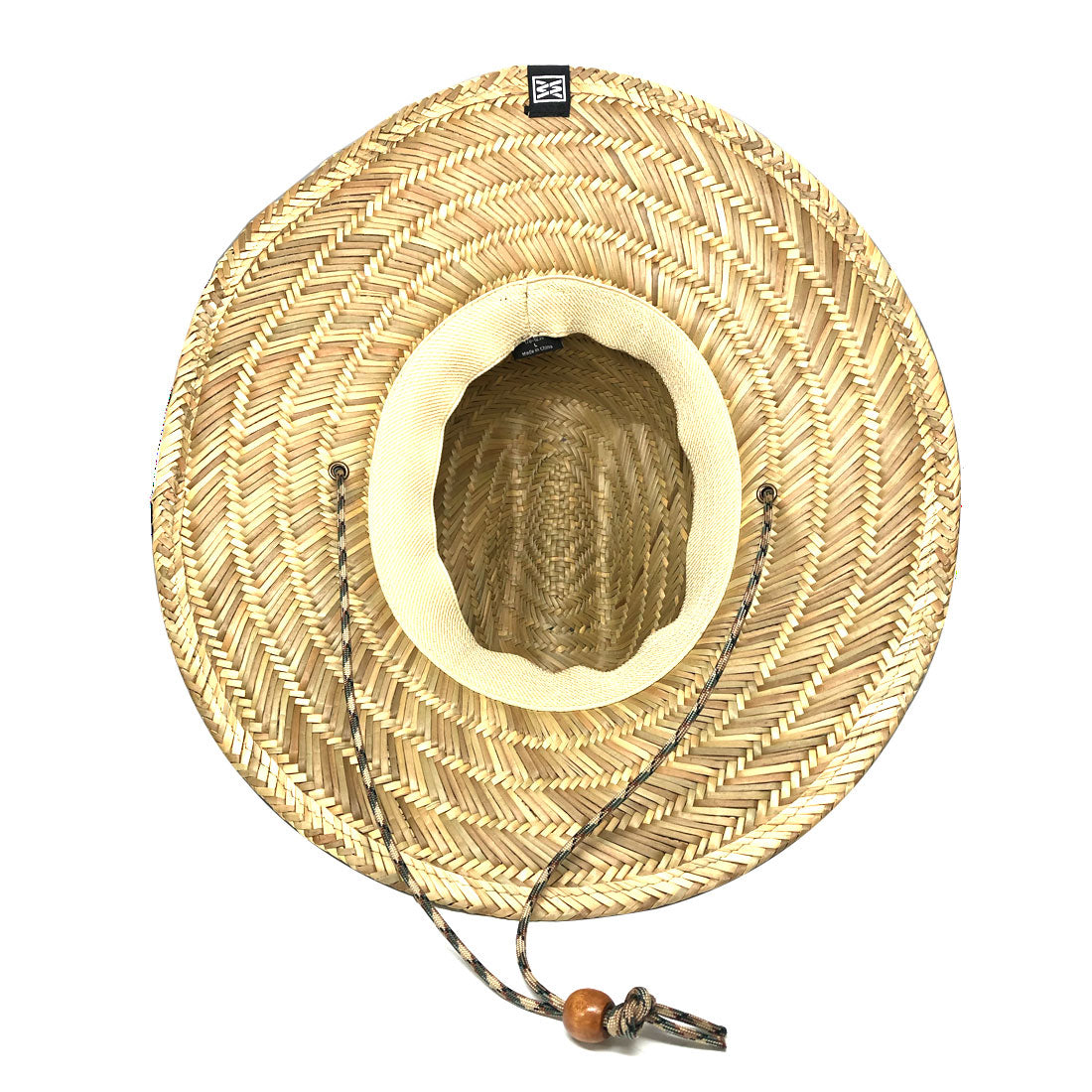 Shady Lifeguard Hat in Natural Straw