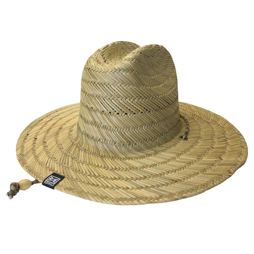 RIZNWILD | Straw hat back view