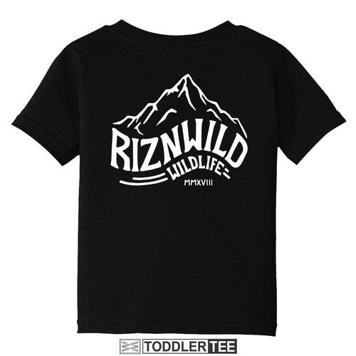 ROCKIES TODDLER TEE IN BLACK
