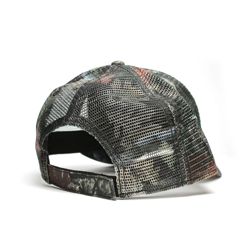 Liberty camo Velcro curved bill hat | RIZNWILD