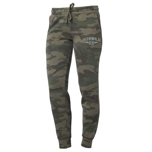 STORM WOMENS SWEATPANTS IN CAMO HEATHER