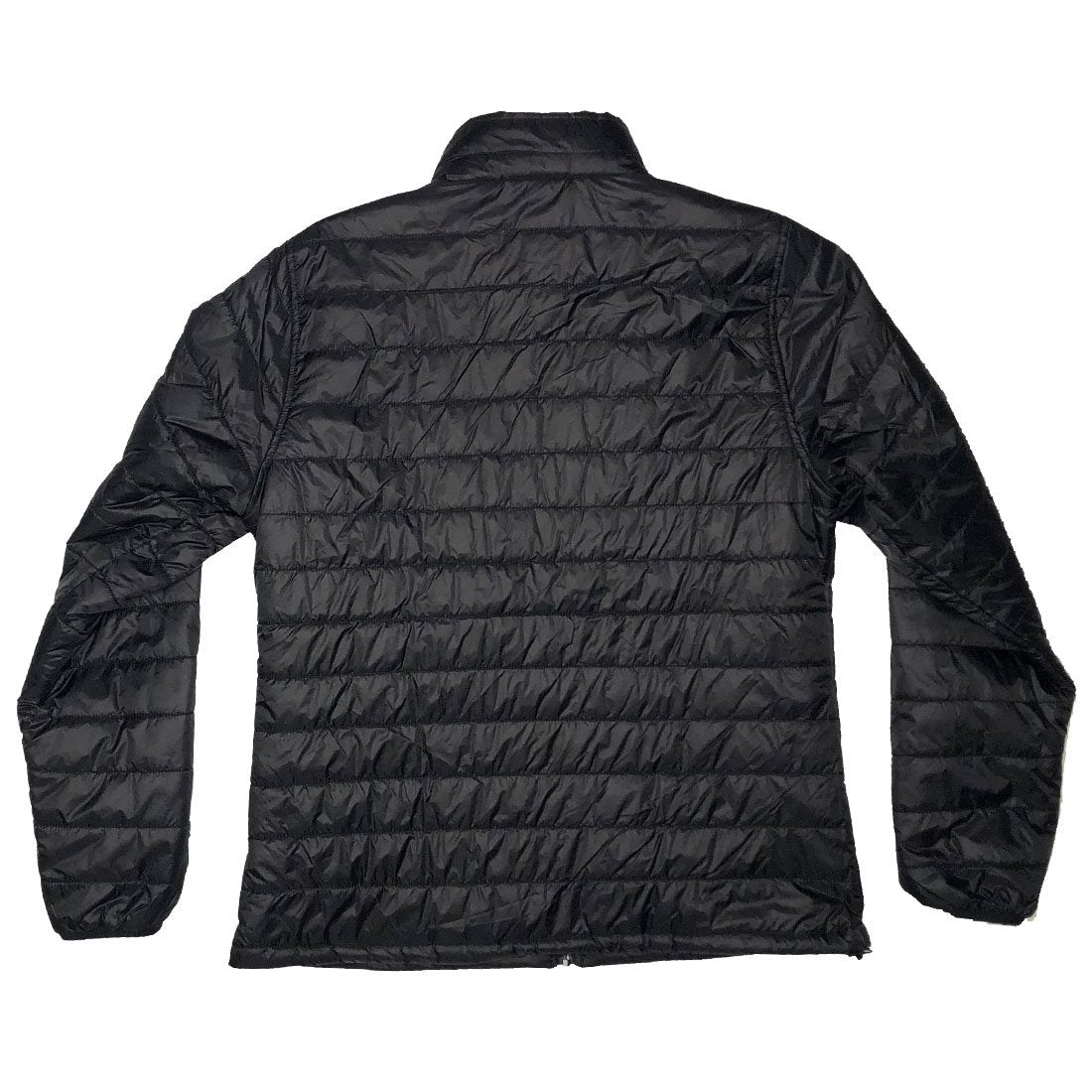 RIZNWILD | Black girls puffer jacket back view