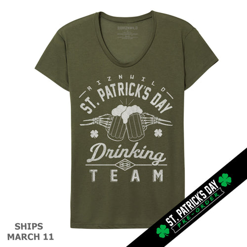 St. Patrick's Day Womens Tee